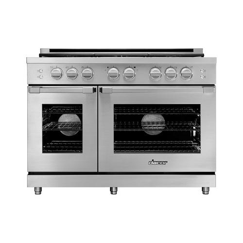 "48"" Gas Pro Range, DacorMatch, Liquid Propane/High Altitude"