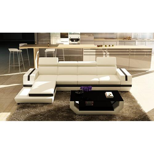 Divani Casa 5099B Modern Bonded Leather Sectional Sofa