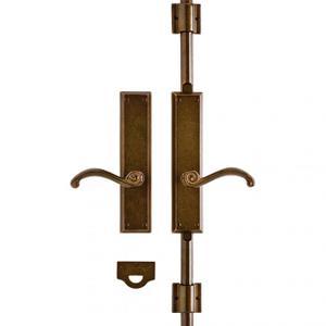 """Rectangular Cremone Bolt Set - 2 1/2"""" x 11"""" Silicon Bronze Brushed Product Image"""