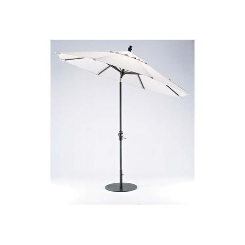 Telescope Casual Furniture - Value Market Umbrella 11' Market Umbrella w/ Powdercoat Aluminum Frame and Autotilt