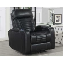 Lavon Dual-Power Leatherette Recliner
