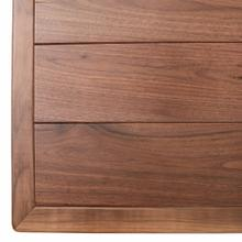 View Product - Denver 4 Drawer Chest - All Walnut
