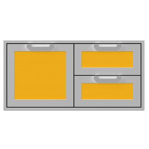 """42"""" Hestan Outdoor Combo Door/Drawer - AGSDR Series - Sol"""