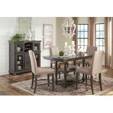 See Details - Audberry Transitional 5 Piece Dining Group