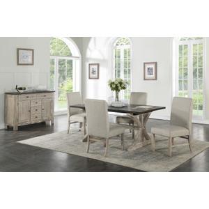 Standard Furniture - Jefferson Sideboard, Distressed Brown