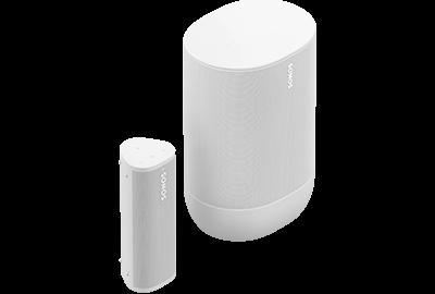 Lunar-white- Portable Set with Move & Roam