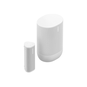 Sonos - Lunar-white- Portable Set with Move & Roam