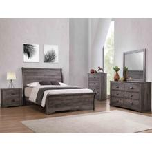 Coralee Night Stand Grey