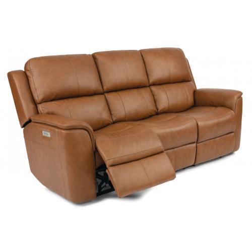 Henry Power Reclining Sofa with Power Headrests & Lumbar
