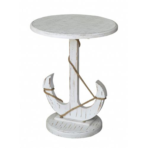 Product Image - Harbor Distressed White Anchor Table