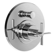 Stoic Pressure Balance Diverter Valve for Tub & Shower Set - Cross Handle - Polished Chrome