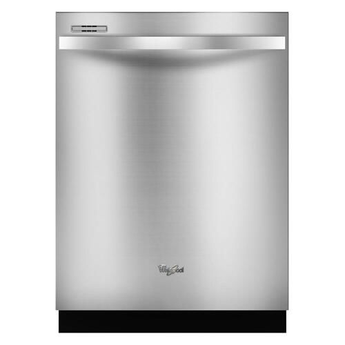 Whirlpool - Gold® Series Dishwasher with Sensor Cycle (This is a Stock Photo, actual unit (s) appearance may contain cosmetic blemishes. Please call store if you would like actual pictures). This unit carries our 6 month warranty, MANUFACTURER WARRANTY and REBATE NOT VALID with this item. ISI 45577
