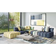Divani Casa Dubai - The Second- Modern Modular Fabric Sectional Sofa
