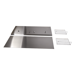 "Jenn-AirBackguard with Shelf - 36"" Stainless Steel"