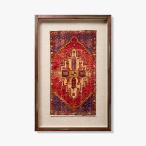 Loloi Rugs - 0351180023 Vintage Turkish Rug Wall Art
