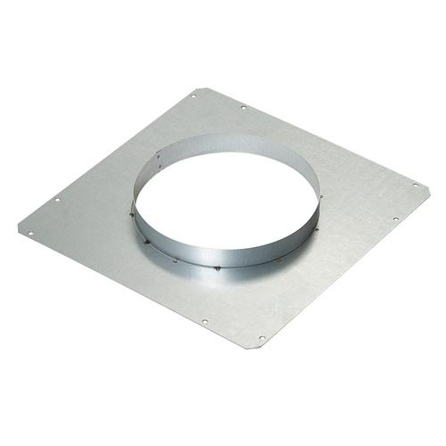 """BEST Range Hoods - D49M Front Panel Rough-In Plate 8"""" Round"""
