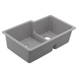 Granite Series 33 x 20.5 x 9.5 granite granite double bowl sink Product Image