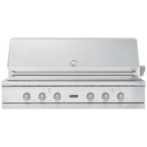 """Viking - 54"""" Ultra-Premium Gas Grill with TruSear™ Infrared Burner, Natural Gas"""