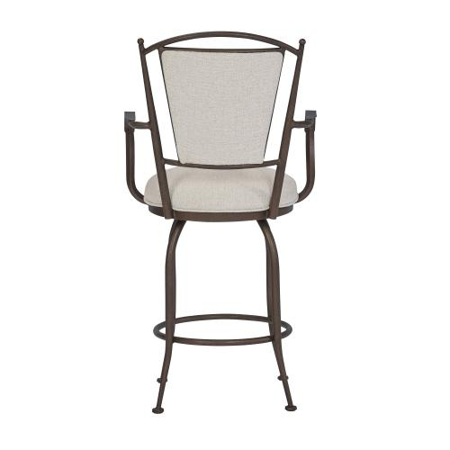 Wesley Allen - Durham with Arms Bar Stool