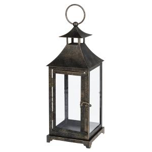 Antique Bronze Metal Lantern