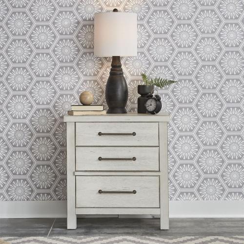 King Platform Bed, Dresser & Mirror, Chest, N/S