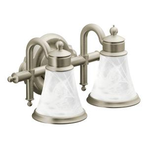 Waterhill brushed nickel bath light Product Image