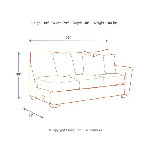 Ellabury 2-piece Sectional With Chaise