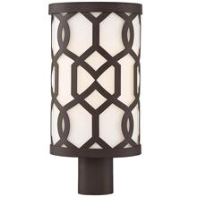 See Details - Libby Langdon for Crystorama Jennings Outdoor 1 Light Post