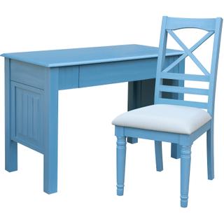 Beachfront Ocean Blue Desk