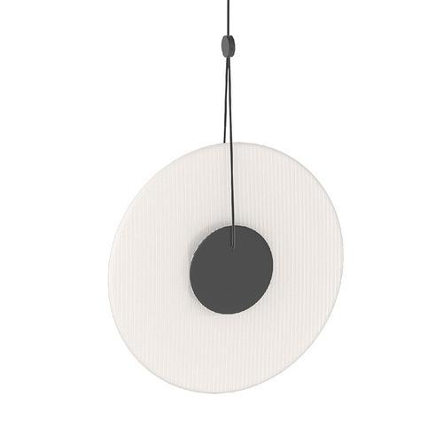 Sonneman - A Way of Light - Meclisse LED Pendant [Size=1-Light, Color/Finish=Satin Black w/Etched Glass]