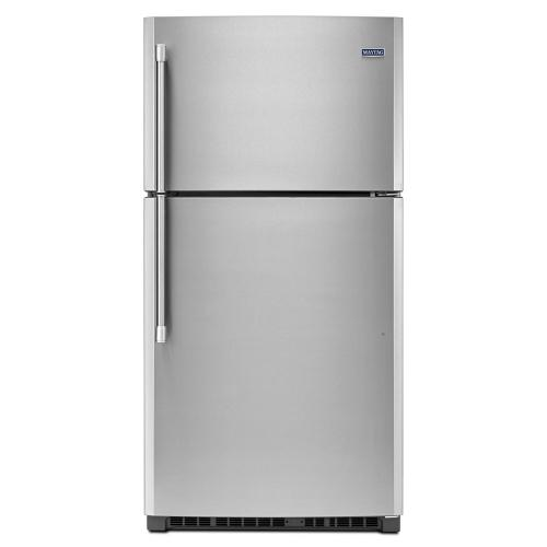 Gallery - 33-inch Wide Top Freezer Refrigerator with PowerCold® Feature - 21 cu. ft.