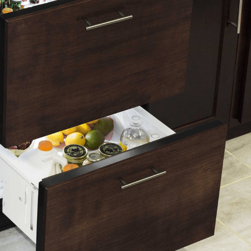 Marvel - 24-In Built-In Refrigerated Drawers with Door Style - Panel Ready