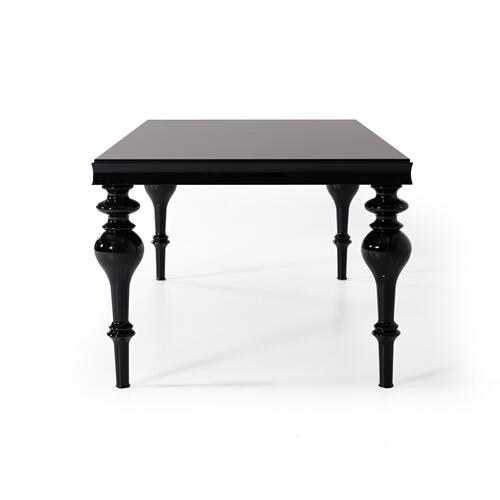 Modrest Nayri - Transitional Black High Gloss Dining Table