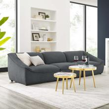 Comprise 3-Piece Sofa in Charcoal
