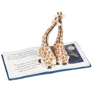 On the Night You Were Born Figurine - Giraffes