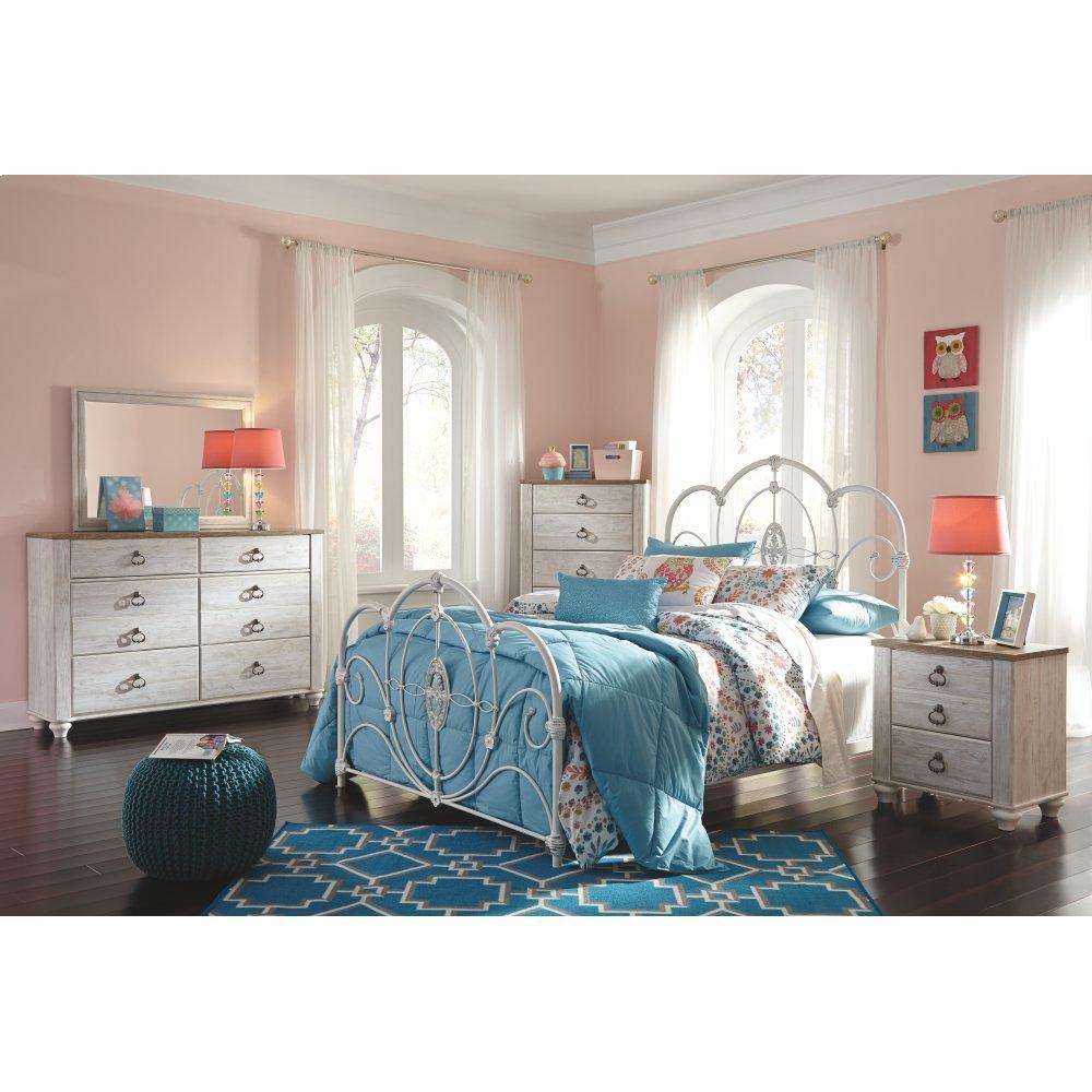 Willowton Dresser and Mirror