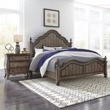 Queen Poster Bed, 2 NS