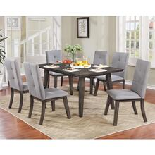 Ashland 7pc Dining Set, Grey