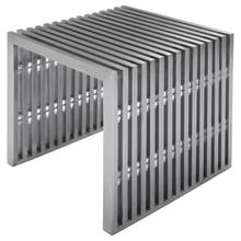 See Details - Amici Jr. Bench  Silver