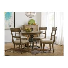 """View Product - 44"""" Round Dining Table With Metal Base"""