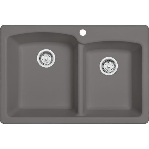 Franke - Ellipse EOSG33229-1 Granite Stone Grey