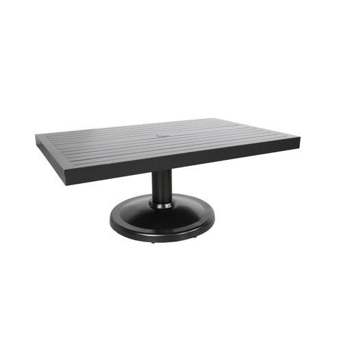 "Monaco 48""x31"" Pedestal Coffee Table"