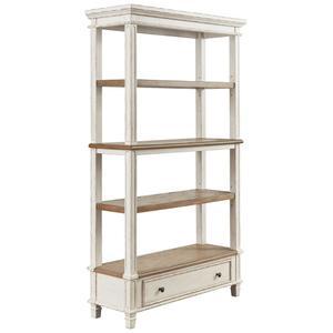 """Ashley FurnitureSIGNATURE DESIGN BY ASHLEYRealyn 75"""" Bookcase"""