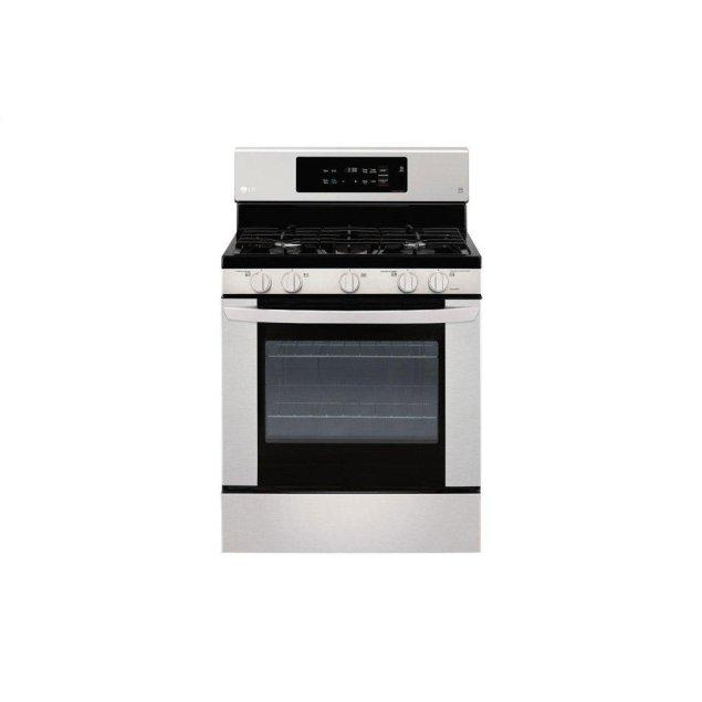 LG Appliances 5.4 cu. ft. Gas Single Oven Range with EasyClean®