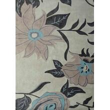 Durable Hand Tufted Transition TF32 Area Rug by Rug Factory Plus - 2' x 3' / Beige