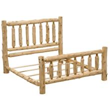 Traditional Bed - Cal King - Natural Cedar