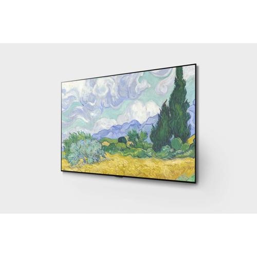 LG - LG G1 77 inch Class with Gallery Design 4K Smart OLED evo TV w/AI ThinQ® (76.7'' Diag)