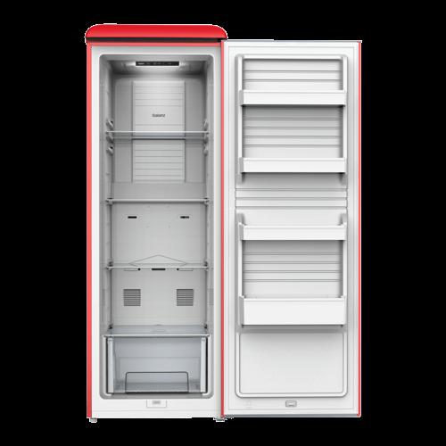Galanz 11.0 Cu Ft Retro Upright Freezer in Hot Rod Red