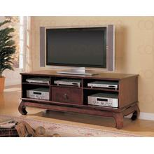 "TV STAND,DARK COFFEE/F 65""X24""X24-1/2""H"