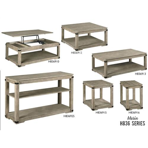 H836 Marin Tables